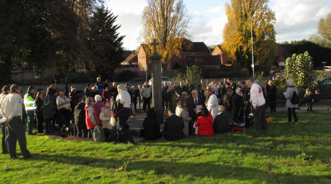 Laindon War Memorial 11.11.2018.