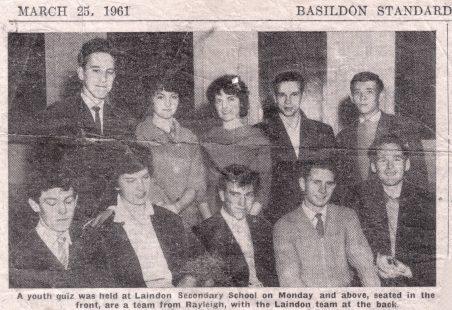 School Quiz 1961.