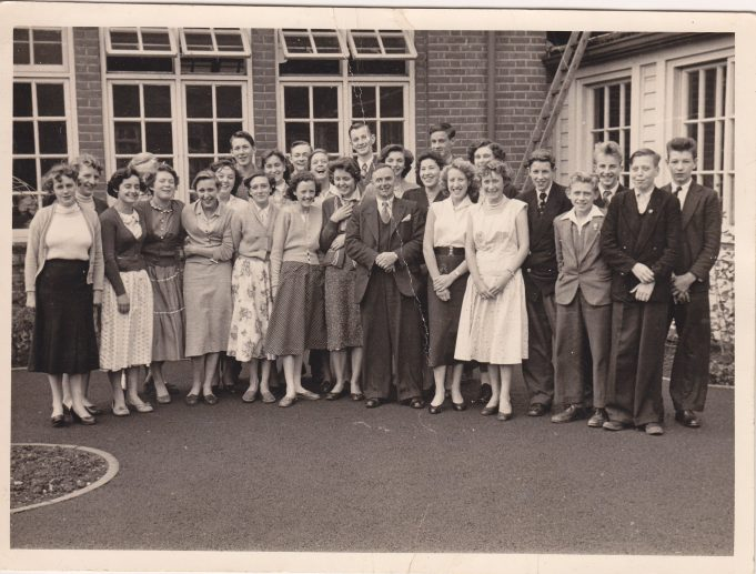 Laindon High Road School unknown year.