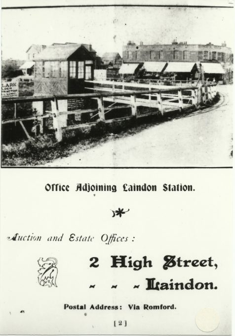 Thomas Helmore's office early last century.