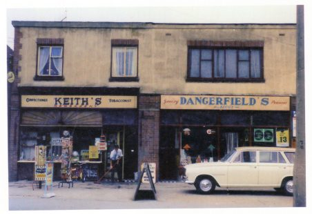 Keith Cullis - Shop in The Broadway, Laindon.