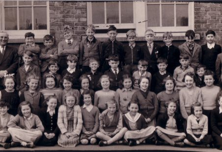 Langdon Hills School c 1956.
