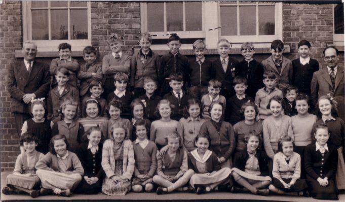 Langdon Hills School c 1956 | Jean Hayes.