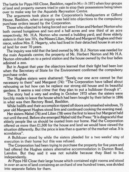 Basildon's Worst Case Of Eviction?