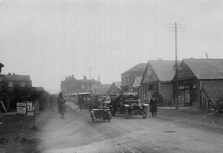 Funeral Procession in High Road, Laindon.