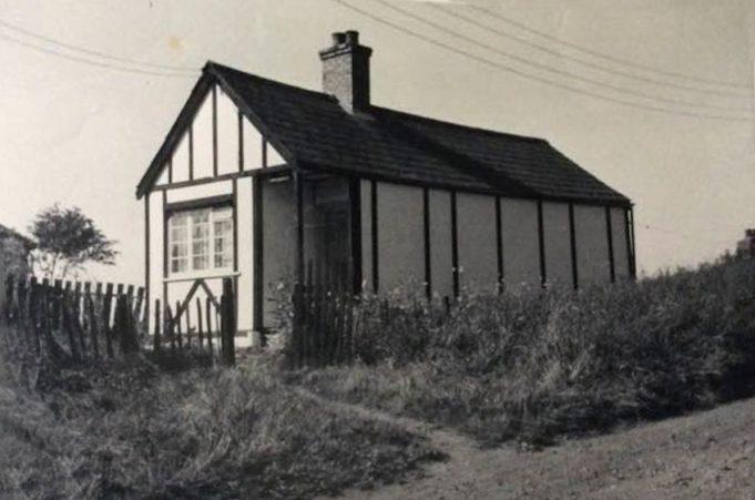 'Hawthorns', Butler's Grove 1958.