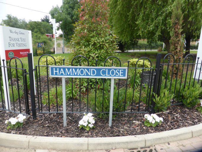 Hammond Close