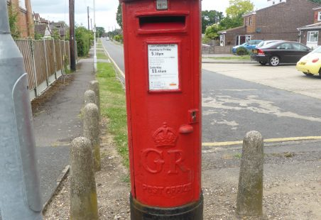 Laindon and Langdon Hills George Post Boxes