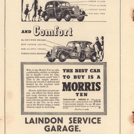 Laindon Carnival 1937