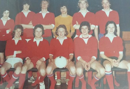 Laindon 4th year football team spring 1977