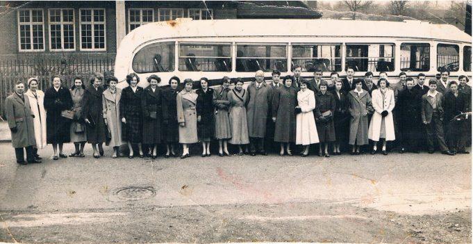 1956 LHRS trip to Edinburgh