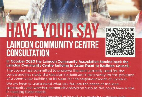 Laindon Community Centre Consultation