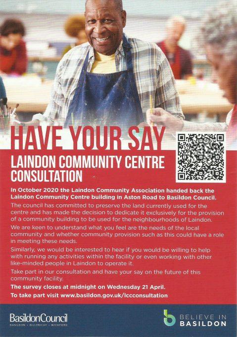 Laindon Community Centre Consultation