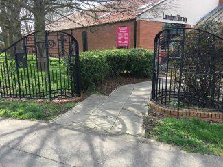 Laindon Library Gates