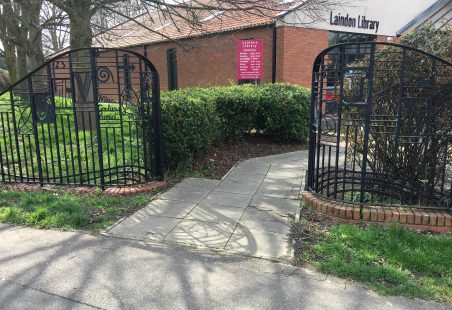 Laindon Library - Gates
